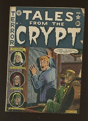 Tales from the Crypt 23 VF 4.0 * 1 Book * 1951,EC! Horror & Terror! Golden Age!