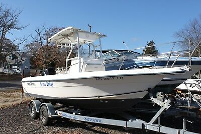 2003 Sea Fox 217 Center Console boat Clean Title LOW RESERVE fishing 03