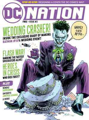Dc Nation 2 Giveaway Promo Nm Joker Cover Batman Superman
