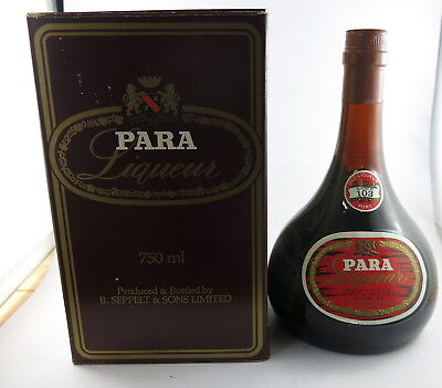 Seppelt Para Liqueur Port Number 103 Circa 1978 Boxed *Port*