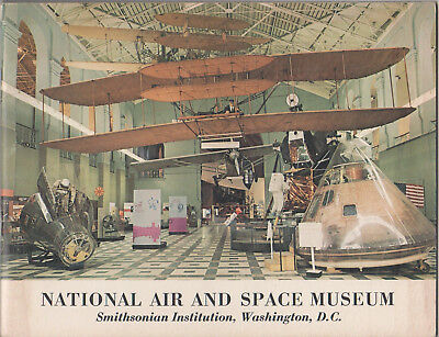 1972 National Air and Space Museum Booklet Astronaut Michael Collins Autograph