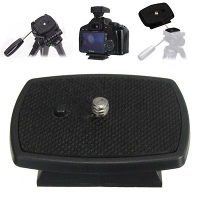 Tripod Quick Release Plate Screw Adapter Mount Head For SLR DSLR Camera nEW