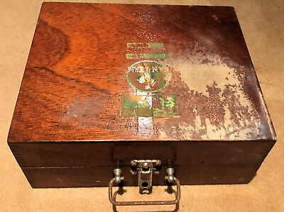 "Antique Box Style Duplicator ""ELLAMS BANTAM"" Very old but in good condition"