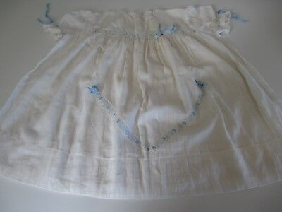 Vintage 1951 Baby Baptism Christening Gown Suit Collector or Bear Toy Doll Dress
