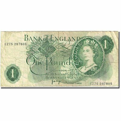 [#272077] Banknote, Great Britain, 1 Pound, 1960-1964, 1970-1977, KM:374g