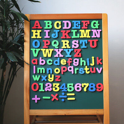 Kids Learning Teaching Magnetic Letters Numbers Fridge Magnets Alphabet Toy Eyef