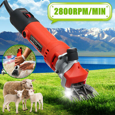 600W Electric Sheep Shearing Clipper Shears Goats Alpaca Hair Removal Trimmer