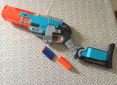 Nerf Zombie Strike Sledgefire Rare Good Condition Fully Working