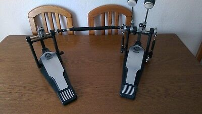 drum bass Yamaha double pedal, doppelfußmaschine
