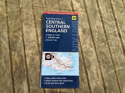 Road Map Britain 2 Central Southern England
