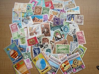 75  MIDDLE EAST STAMPS (Countries mixture) lot A