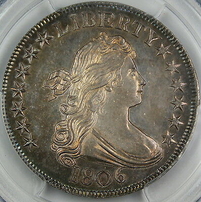 1806 Draped Bust Half Dollar Coin PCGS MS-64 GEM O-123 finest known INCREDIBLE
