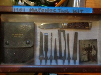 Estae Find Old Napanoch Knife/tool  Kit