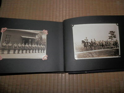 WW2 Japanese Army Emperor guard unit Picture album.70 Photos .Very Good.