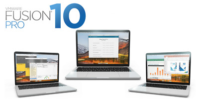 Fusion 10 Pro ( VM Ware )for MAC Lifetime Activation License Key