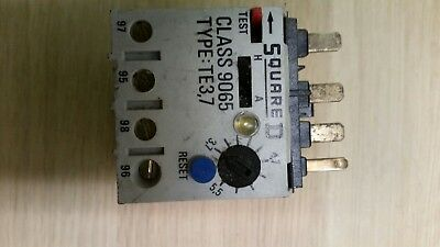 3.7A - 5.5A Overload Unit For 3 Phase Motor Starter