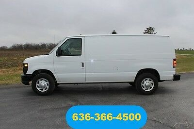 Ford E-Series Van Commercial 2011 Commercial Used 4.6L V8 Cargo Low Miles Shelves Fleet Serviced Inspected
