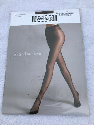 Wolford Satin touch 20 tights - Small, in Coca