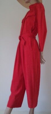 Thierry Mugler Overall Jumpsuit rot Vintage M