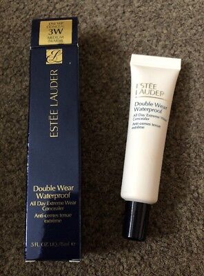 Estee Lauder Double Wear Waterproof All Day Concealer Shade 3W Medium NEW-BOXED