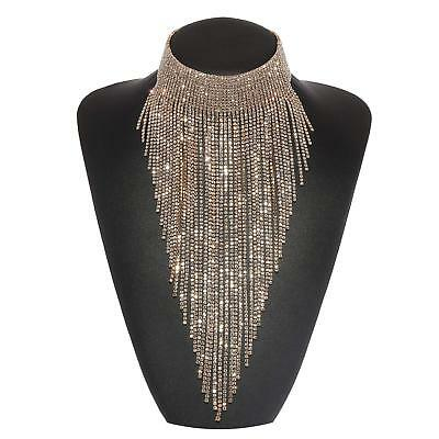 Holylove 2 Colors Tassel Collar Statement Necklace For Women Novelty Fashion Jew