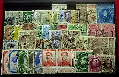 BELGIUM - Old Stamps - Used / Mint MH / NG / MNH - VF - r71e6854