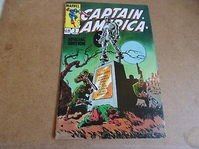 Captain America Special Edition # 2--reprints by Stan Lee and Jim Stranko--1984-