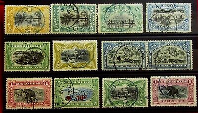 BELGIUM BELGIAN CONGO - Old Stamps - Used with NICE CANCEL -  r71e6863
