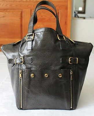 7213e4f790f3 YSL YVES SAINT Laurent Downtown Medium Patent Leather Bag -  139.95 ...