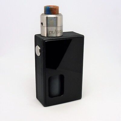 T3 ALLUMIDE SQUONK With 3 Doors And 2 Buttons 20700 Solid Silver