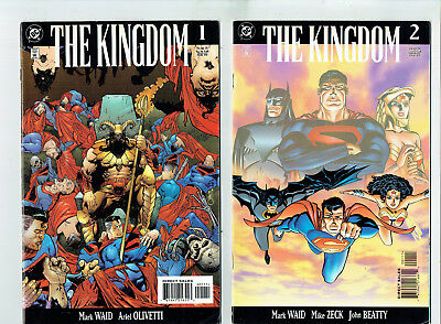 The Kingdom: 6 issues (DC 1999) Superman Elseworlds, based on Kingdom Come