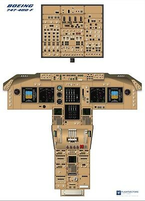 Cockpit Airbus A380 from £29.95 Flight Deck Training Posters 25/%-100/%