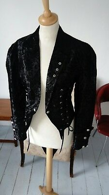 Vintage style tailcoat jacket - Larp Cosplay costume