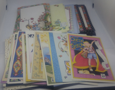 35 MARY ENGELBREIT CARDS WITH ENVELOPES, 1980s, 1990s, 2000s, ME INK
