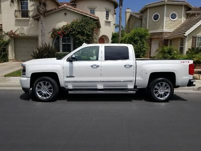 2016 Chevrolet Silverado 1500 High Country 4x4 Immaculate 2016 Chevy Silverado High Country