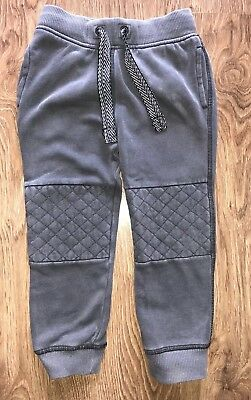 Next Boys Grey Biker Style Jogging Bottoms 2-3 Years!!