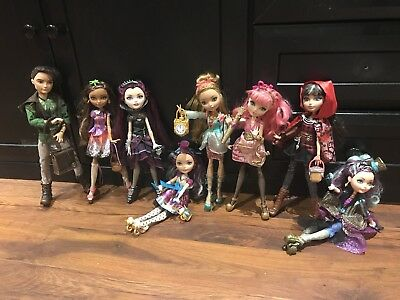 ever after high doll bundle, Great Condition