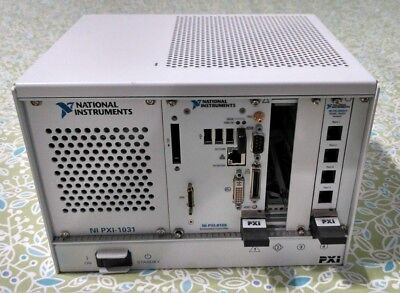 National Instruments NI PXI-1031 Chassis PXI 8081 and PXI 8433/4 LabView2009
