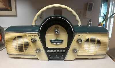 1991 Overdrive  Cicena  Classic Dashboard Style Radio & Cassette Player