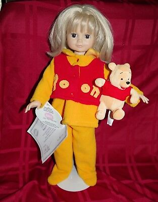 Götz doll Morgan & Pooh - only 50 made