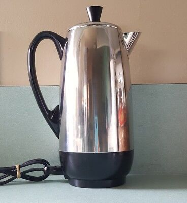 Farberware Superfast 12 Cup Fully Automatic Percolator Coffee Pot FCP-412 TESTED