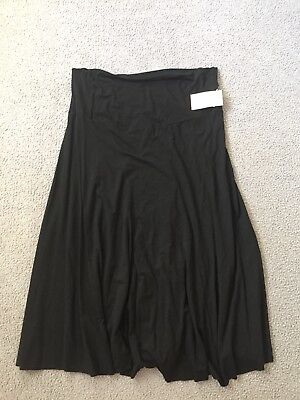 Angel Maternity Ladies Black Skirt Size XXL