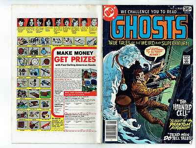 Ghosts 64 (DC 1978) 3 horror stories