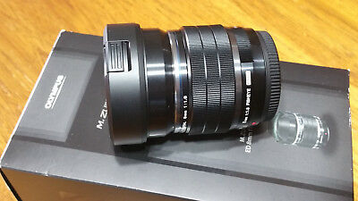 Olympus M.ZUIKO Digital ED 8mm f/1.8 Fisheye...As New, Unused.