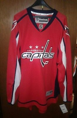 Washington capitals Home Red Reebok premier size 3xl Jersey New with tags f2169fe97
