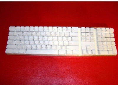 620ca2b4874 Apple Mac Full-Size White Bluetooth Wireless Keyboard A1016 M9270LL/A FAST  SHIP