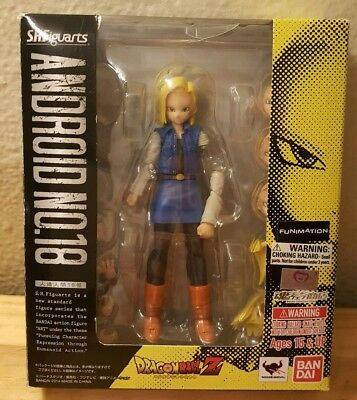 DragonBall Z- Android 18 SH Figuarts - authentic, incomplete