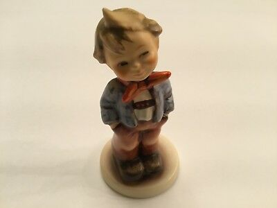 Goebel Hummel Figurine 553 First Issue Stamp TMK-7 Scamp Cozy Compainions 1992