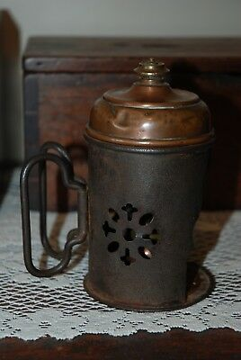Antique Medical Vaporizer -  Late 1800s / early 1900s - metal steampunk lamp