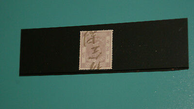 1872 Hong Kong Queen Victoria 3c Stamp Duty w/Wmk Inverted. FU.